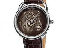 Closer Look At The Well Finished Hermes Arceau Tigre Replica Watch