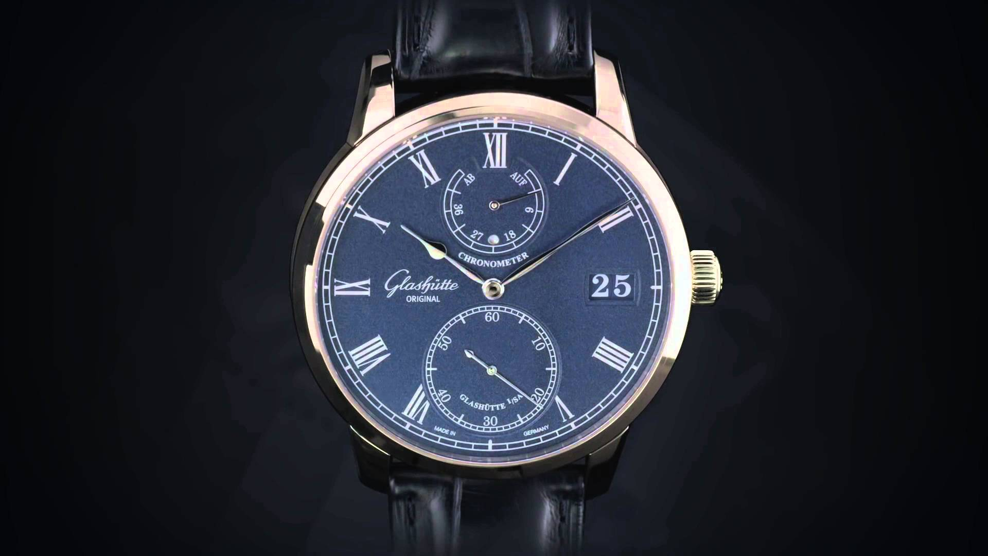 Closer Look At The Typical And Pretty Glashutte Original Senator Chronometer Replica Watch