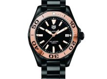 Replica TAG Heuer Aquaracer LADY 300M Full Ceramic GOLD Collection