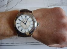 Closer Look At The Complicated Longines Heritage Lindbergh Hour Angle Replica Watch