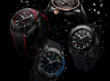 Presenting The Sporty Cool Omega Planet Ocean Deep Black collection Replica Watch