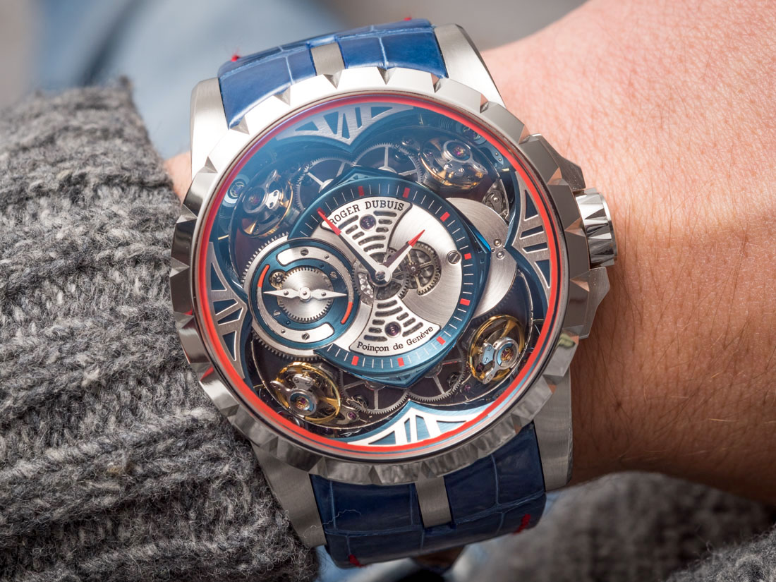 Show You The Roger Dubuis Excalibur Spider Pirelli Automatic Skeleton Replica