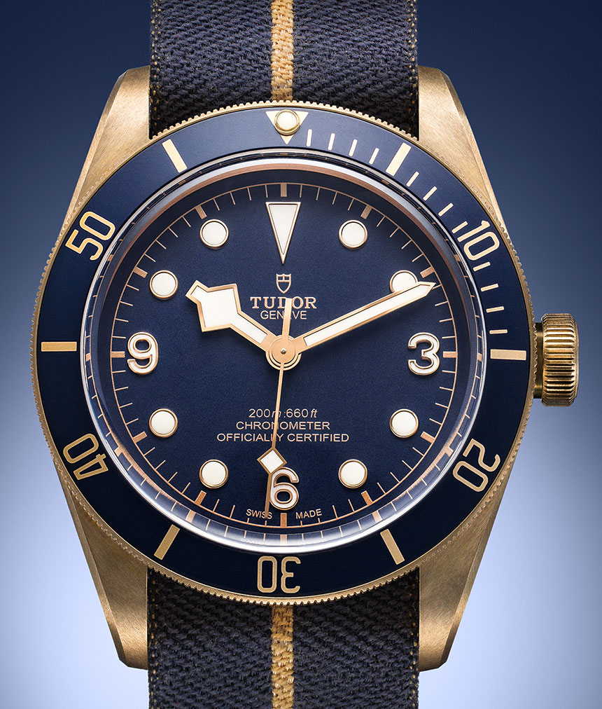 A Elegant Timepiece Of Tudor Heritage Black Bay Bronze Blue Men's Replica