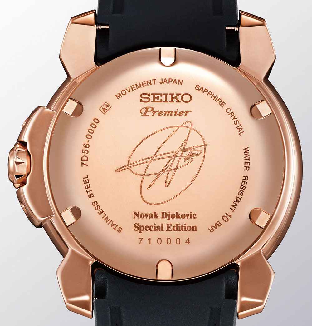 On the Wrist: Seiko Premier Kinetic Perpetual Novak Djokovic Replica