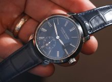 Ulysse Nardin Classico Manufacture 'Grand Feu' Blue Enamel Dial Watch Replica