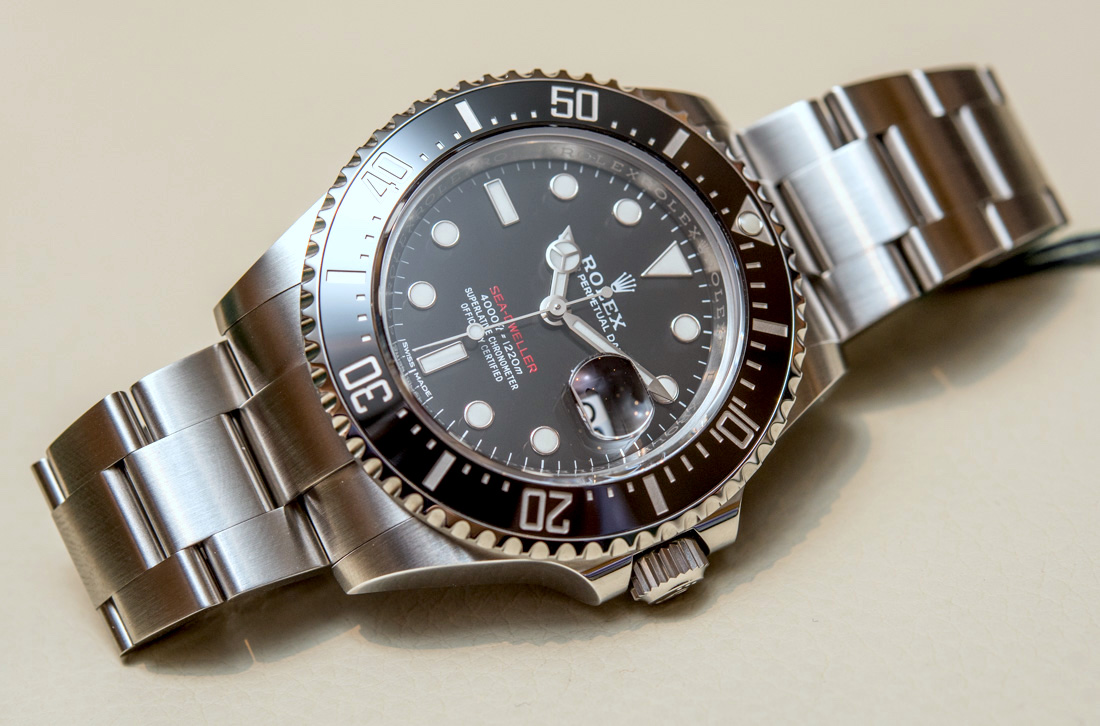 Rolex Sea-Dweller 126600 Watch Marks 50th Anniversary Of The Sea-Dweller Hands-On