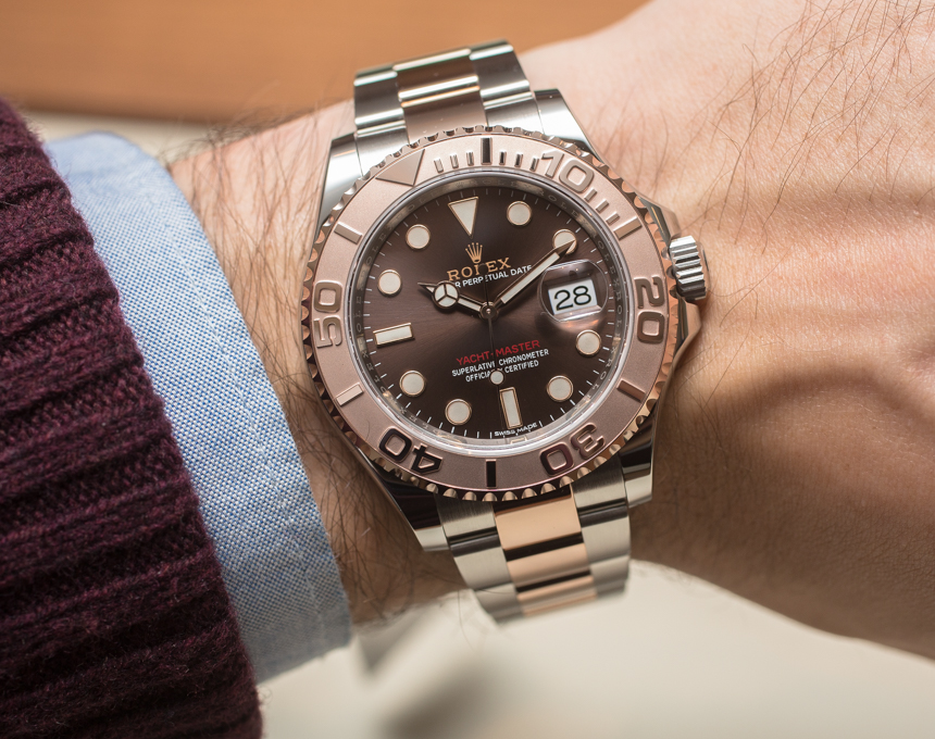 abdc7c4db3a7 Review Of Rolex Yacht-Master 40 Watch Hands-On Replica Wholesale ...