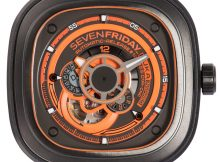 SevenFriday P3/07 KUKA III Edition Watch Watch Releases