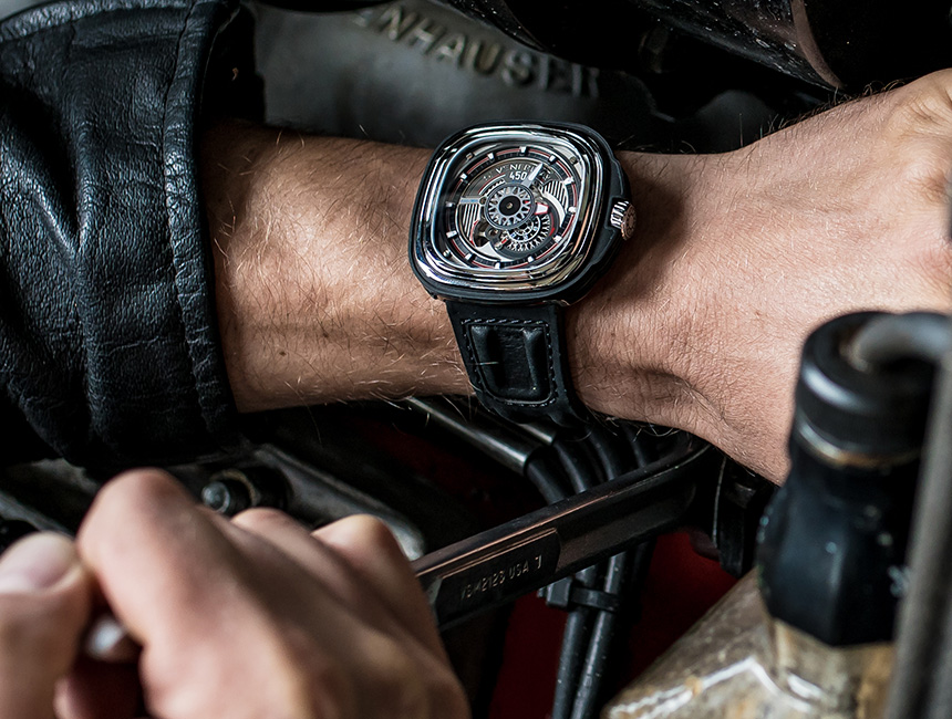SevenFriday P3C/01 Hot Rod Watch Watch Releases