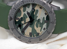 Take A Look At The Sinn U1 Camouflage With 44mm Case Mens Replica