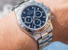 Rolex Daytona 116520 In Steel With Black Dial Watch Review Wrist Time Reviews