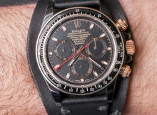 Les Artisans De Genève & Kravitz Design LK 01 Customized Rolex Daytona Watch Review Wrist Time Reviews