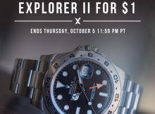 Rolex Explorer II 216570: Special Offer Available At StockX Sales & Auctions