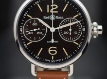 Bell & Ross WW1 Monopusher